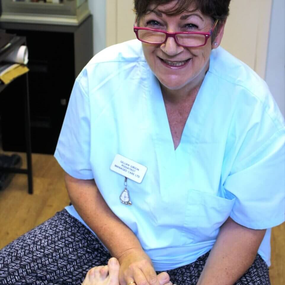 Gillian Gibson of Totally Podiatry, Somerset Podiatry Services
